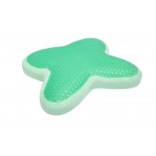 符合人體工程學設計 綠茶清涼凝膠頸枕(綠色)