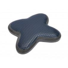 符合人體工程學設計 竹炭清涼凝膠頸枕(灰色)