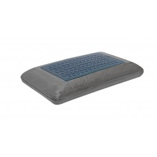 竹炭清涼凝膠記憶枕(灰色)