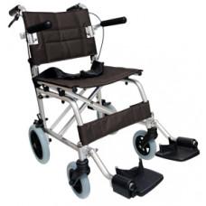 輕攜式摺合輪椅 (黑色)