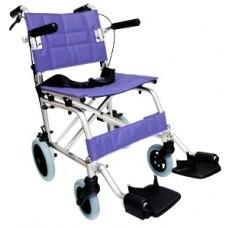 輕攜式摺合輪椅 (紫色)