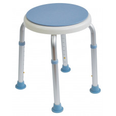 可調高圓型旋轉沐浴椅