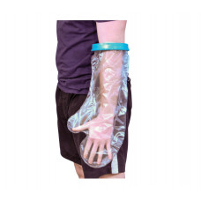 沐浴防水保護手套 - 加寬成人前臂