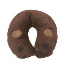 多合一功能頸枕 - 棕色