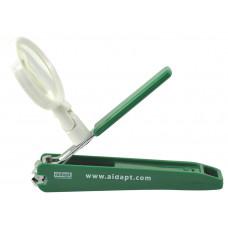 指甲鉗 (具放大功能) - 綠色