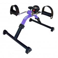 可摺疊腳踏復康單車(附有電子儀) - 紫色
