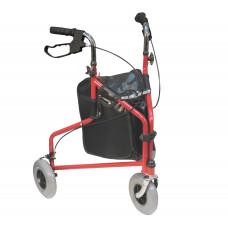 輕量級助行車 - 紅黑色