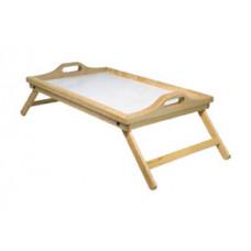 可調教木製床用托盤
