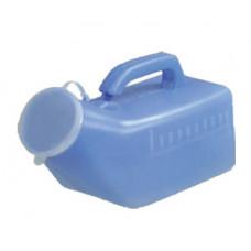 藍色男性尿壺