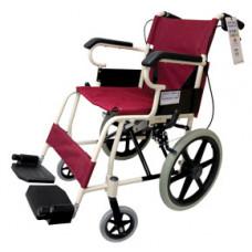 摺疊式便攜輪椅(紅色)