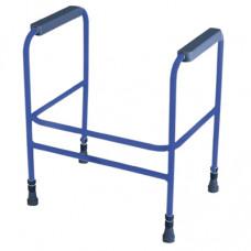 Ashford高度可調式馬桶架(藍色)