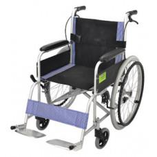 摺疊式輪椅(藍色)