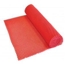 防滑網墊150x30cm - 紅色