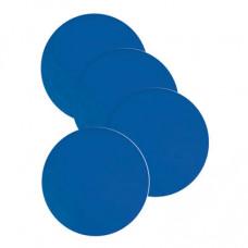 防滑矽膠杯墊 (4個裝) - 藍色