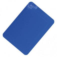 矽橡膠防滑墊25.5x18.5厘米 (藍色)