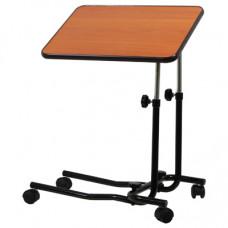 Canterbury黑木多用途可移動工作桌子 (輔助輪)