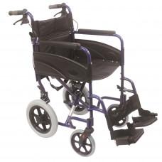輕巧式鋁合金輪椅 (藍色) - 預訂