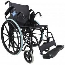 Aidapt 豪華自推進式鋼製輪椅(黑色)- 預訂
