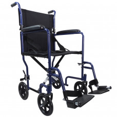 Aidapt 輕巧式鋼製輪椅 (藍色)