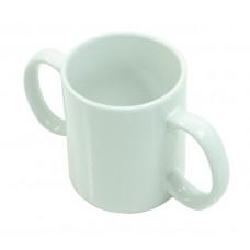 兩把手陶瓷杯