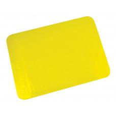 矽橡膠防滑墊25.5x18.5厘米 (黃色)