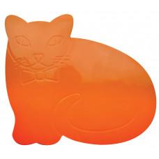 Tenura 防滑及抗菌兒童桌墊 - 橙色猫