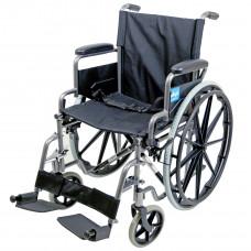 Aidapt 豪华自推进式钢制轮椅(锤击效果)- 预订