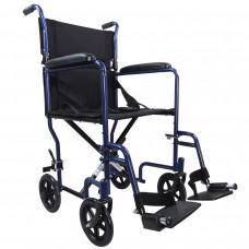 Aidapt 轻巧式钢制轮椅 (蓝色)